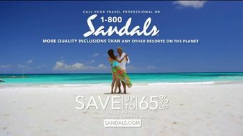 Sandals Resorts TV Spot, 'Quality Inclusions: Time of My Life' - Thumbnail 10