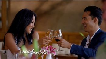 Sandals Resorts TV Spot, 'Quality Inclusions: Time of My Life'
