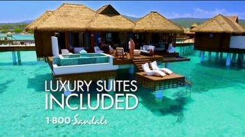 Sandals Resorts TV Spot, 'Quality Inclusions: Time of My Life' - Thumbnail 4
