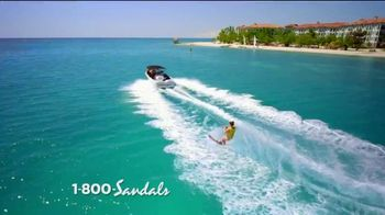 Sandals Resorts TV Spot, 'Quality Inclusions: Time of My Life' - Thumbnail 5