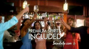 Sandals Resorts TV Spot, 'Quality Inclusions: Time of My Life' - Thumbnail 8
