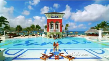 Sandals Resorts TV Spot, 'Quality Inclusions: Time of My Life' - Thumbnail 9