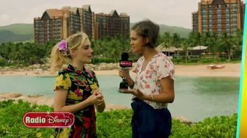 Radio Disney TV Spot, 'Insider: Meg Donnelly and Lela B at Disney Aulani in Hawaii' - 96 commercial airings
