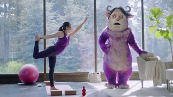POM TV Spot, 'Get Rid of Your Worry Monster: Yoga' - 1887 commercial airings
