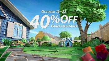 Sherwin-Williams Four-Day Super Sale TV Spot, 'Bring Color Home: Paints'
