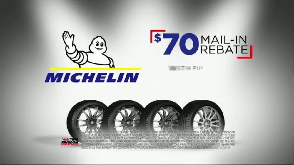Michelin Tire Rebate >> Tire Kingdom Big Brands Bonus Month Tv Commercial Michelin Rebate Video