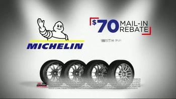 Tire Kingdom Big Brands Bonus Month TV Spot, 'Michelin Rebate' - Thumbnail 4