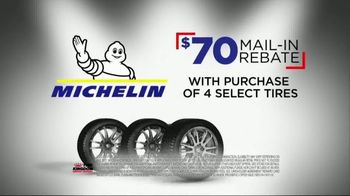 Tire Kingdom Big Brands Bonus Month TV Spot, 'Michelin Rebate' - Thumbnail 5