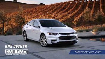 Hendrick Automotive Group TV Spot, 'Verified'