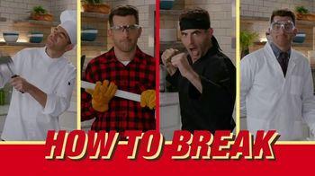 KitKat TV Spot, 'FXX Eats: How to Break' - 15 commercial airings