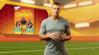 Honey Nut Cheerios Good Rewards TV Spot, 'Gronk + Gronk Nation Youth Foundation' - 64 commercial airings