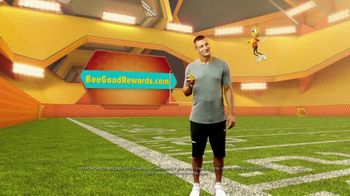 Honey Nut Cheerios Good Rewards TV Spot, 'Gronk + Gronk Nation Youth Foundation' - Thumbnail 9