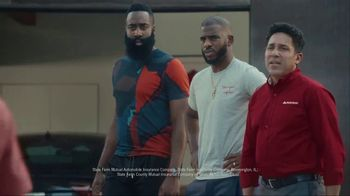 State Farm TV Spot, 'RoboAgent' Featuring Chris Paul, James Harden, Oscar Nuñez - Thumbnail 2