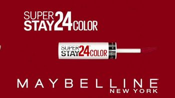 Maybelline New York SuperStay 24 Color TV Spot, 'Real-Life-Proof' - Thumbnail 2