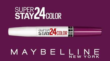 Maybelline New York SuperStay 24 Color TV Spot, 'Real-Life-Proof'