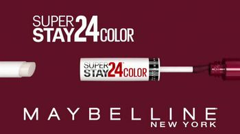 Maybelline New York SuperStay 24 Color TV Spot, 'Real-Life-Proof' - Thumbnail 8