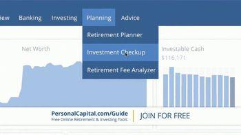 Personal Capital TV Spot, 'Free Investment Checkup' - Thumbnail 6