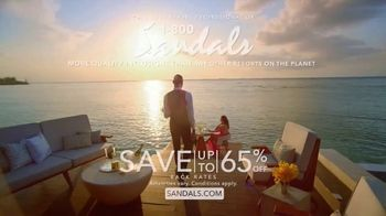 Sandals Resorts TV Spot, 'A First Time for Everything' - Thumbnail 10