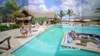 Sandals Resorts TV Spot, 'A First Time for Everything' - Thumbnail 8