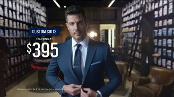 Men's Wearhouse Custom Suits TV Spot, 'Fabric That Speaks to You' Featuring Jesse Palmer