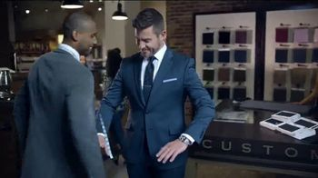 Men's Wearhouse Custom Suits TV Spot, 'Fabric That Speaks to You' Featuring Jesse Palmer - Thumbnail 4