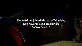 Metro by T-Mobile TV Spot, 'Competition: A Woj Story' Featuring Adrian Wojnarowski - Thumbnail 9