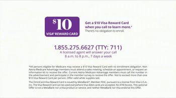 Aetna Medicare Advantage Plans TV Spot, 'Moving Forward: Reward Card' - Thumbnail 10
