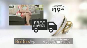 NuBrilliance Hairless Body & Legs TV Spot, 'Multi-Action' - Thumbnail 8