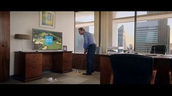 Charles Schwab Online Equity Trades TV Spot, 'Office Putting' - Thumbnail 2