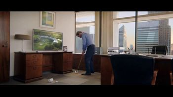 Charles Schwab Online Equity Trades TV Spot, 'Office Putting' - 358 commercial airings