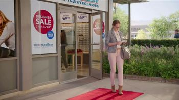 America's Best Contacts and Eyeglasses Designer Sale TV Spot, 'Runway' - Thumbnail 1