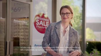 America's Best Contacts and Eyeglasses Designer Sale TV Spot, 'Runway' - Thumbnail 4