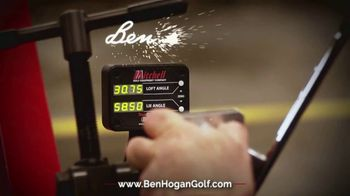 Ben Hogan Edge Irons TV Spot, 'Handcrafted'