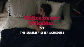 Office Depot TV Spot, 'Summer Sleep Schedule: $2 Supplies' - Thumbnail 1
