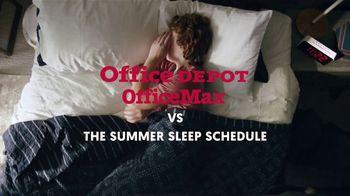 Office Depot TV Spot, 'Summer Sleep Schedule: $2 Supplies' - Thumbnail 2