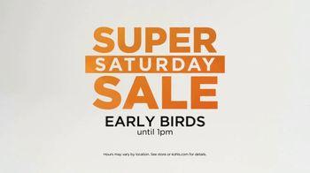 Kohl's Super Saturday Sale TV Spot, 'Shop Early' - Thumbnail 2