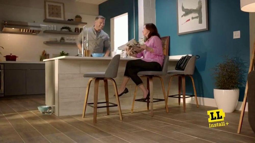 Lumber Liquidators Labor Day Flooring Sale TV Commercial, 'Peace of Mind'