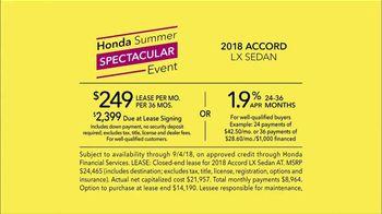 Honda Summer Spectacular Event TV Spot, 'Satisfied Pair' [T2] - Thumbnail 8