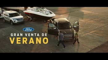 Ford Gran Venta de Verano TV Spot, 'Barco favorito' [Spanish] [T2] - 1180 commercial airings