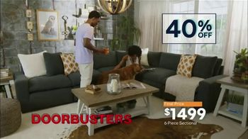 Ashley HomeStore Labor Day Sale TV Spot, 'Doorbusters: Sectional' - Thumbnail 7