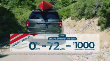 Ford Labor Day Sales Event TV Spot, 'These Deals Won't Last' [T2] - Thumbnail 3
