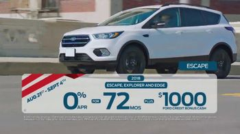 Ford Labor Day Sales Event TV Spot, 'These Deals Won't Last' [T2] - Thumbnail 4