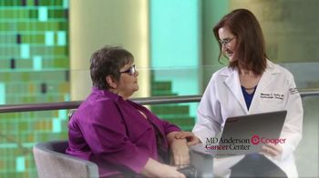 MD Anderson Cooper Center TV Spot, 'Patricia Blanche'