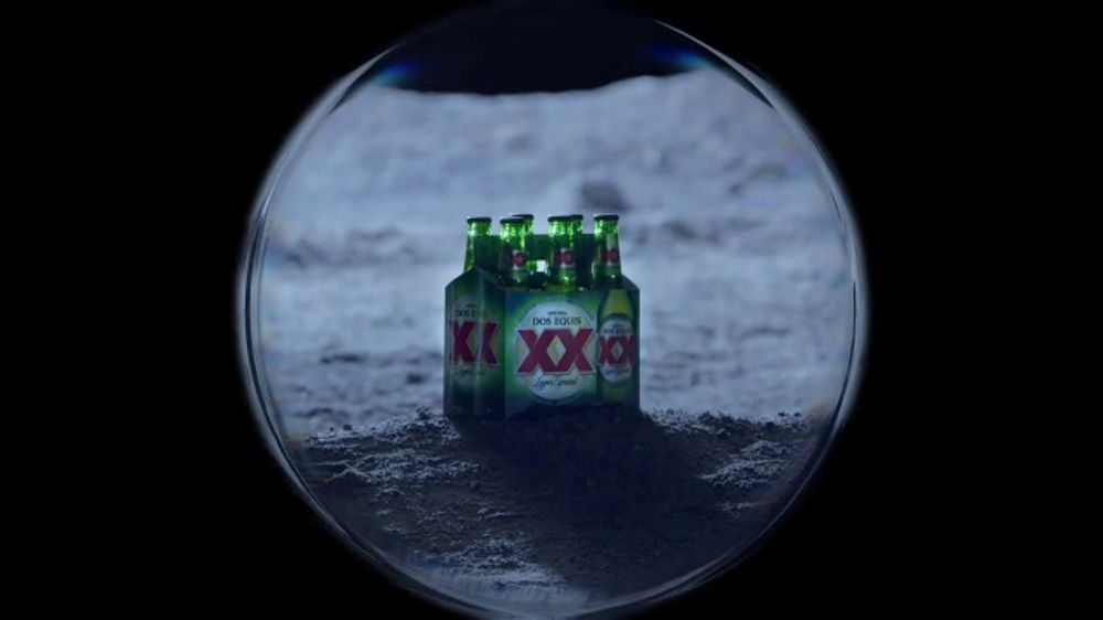 Dos Equis TV Commercial, 'Keep It Interesante: Moon'