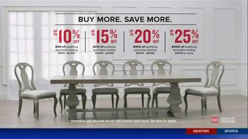 Value City Furniture The Labor Day Sale TV Spot, 'Style and Comfort' - Thumbnail 7