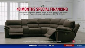 Value City Furniture The Labor Day Sale TV Spot, 'Style and Comfort' - Thumbnail 8