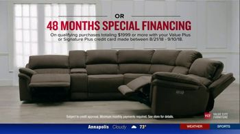 Value City Furniture The Labor Day Sale TV Spot, 'Style and Comfort' - Thumbnail 9