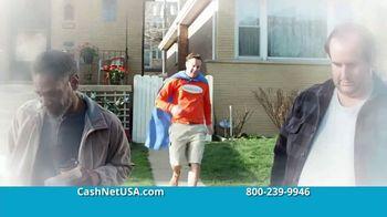 CashNetUSA TV Spot, 'The Origin of CashNetUSA.com Man' - Thumbnail 1