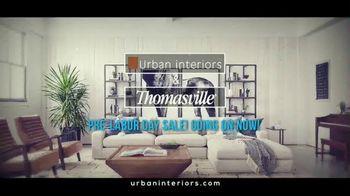 Urban Interiors & Thomasville Pre-Labor Day Sale TV Spot, 'All on Sale' - Thumbnail 1