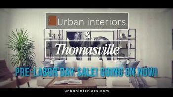 Urban Interiors & Thomasville Pre-Labor Day Sale TV Spot, 'All on Sale' - Thumbnail 2